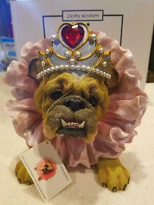 "Zelda Wisdom ""WHEN YOUR THE QUEEN' LARGE FIGURINE-#4793 PERFECT COND-VERY RARE!"
