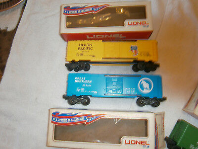 Lionel Mpc Lot Of 5 Cars In Banner Boxes  New Unused 1970 - 1971 C-9