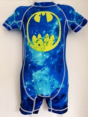 Next Brand New Batman Baby Boys Uv-Sun Suit 12-18 Months