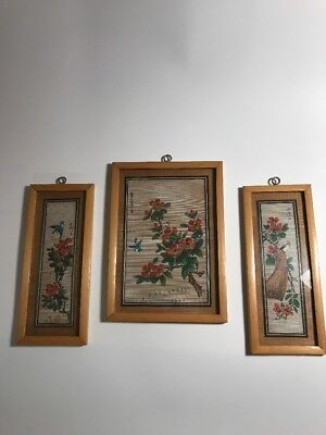 Bamboo Pictures 3 Arts and Crafts Made in the People's Republic of China Orient
