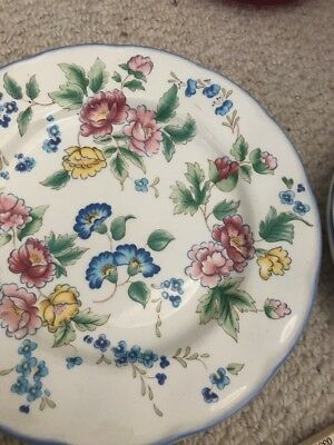 Laura Ashley Hazelbury Side Plates And Saucers