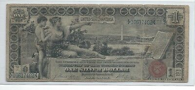 US 1896 $1 Education Silver Certificate - FR 225