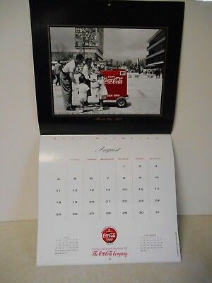 1996 Coca-Cola Coke Paper Calendar New Old Stock XXVI Olympics Atlanta