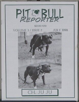 Pit Bull magazines, Pit Bull Reporter, Vol. 3, issues 2 & 3
