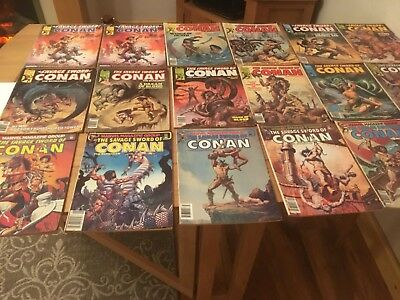 Conan the Barbarian (18 US issues) 1975-1982