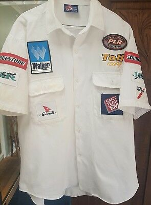 Rare TOLL RACING (PAUL LITTLE RACING) 1998- 05 TEAM SHIRT V8 Touring Super Cars