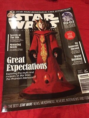 STAR WARS INSIDER THE OFFICIAL MAGAZINE ISSUE #186 Jan/Feb 2019 NEW TITAN