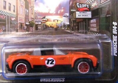 2012 Hot Wheels Boulevard UNDERDOGS Orange PORSCHE 914-6 *Real Riders