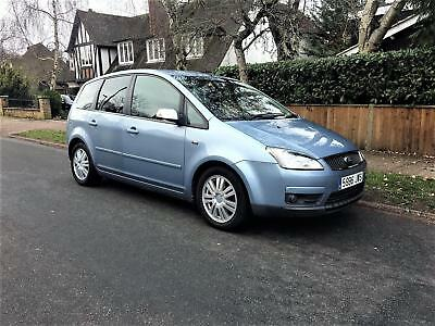 2007 Ford Focus C-Max 2.0 Ghia SPANISH REGISTERED + RHD + RIGHT HAND DRIVE