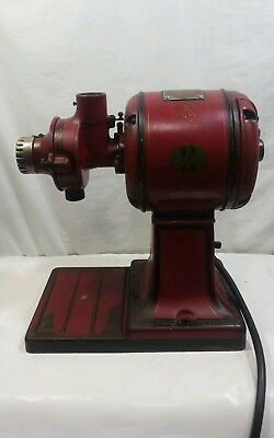 Vintage Cast Iron Hobart Electric Coffee Grinder Mill Hopper General Store
