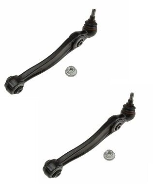 Pair Set 2 Front Lower Rearward Control Arms Wishbones Lemforder For BMW E70 E71