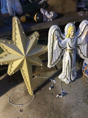 New  Replacement Light Cord For Nativity Star, Angel Blow Mold