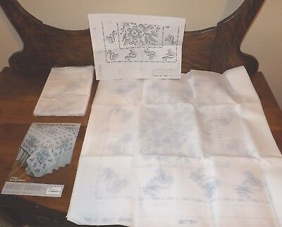 10 Stamped Quilt Blocks to Embroider 18 x 18 Finished Size Each Tobin Twilight