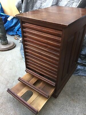 Antique Country Store Wood Cabinet
