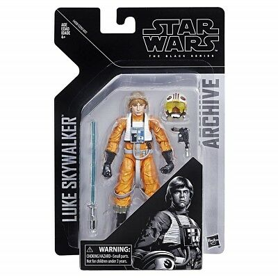Star Wars Black Series NEW * Luke Skywalker Pilot * Archive Action Figure 6-Inch