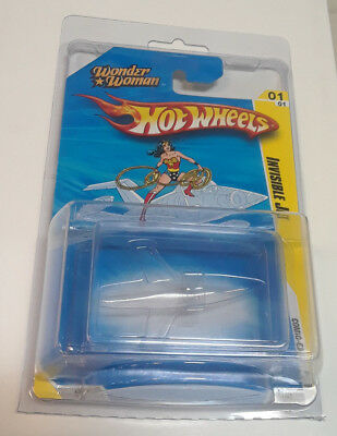 2010 Hot Wheels Wonder Woman Invisible Jet SDCC Exclusive US Seller