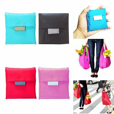 Large Foldable Pouch Grocery Shoulder Bag Shopping Bags Folding Bags Reusable Z1