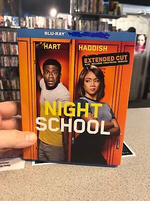 NIGHT SCHOOL BLU-RAY ONLY 2018 (no DVD, No Digital)