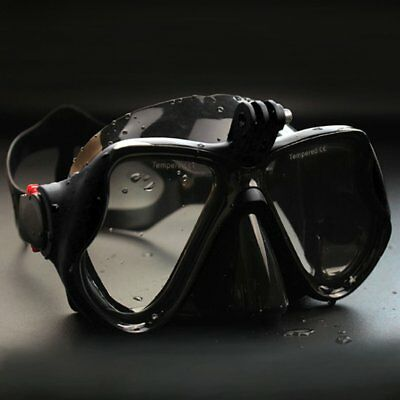 Underwater Camera Anti Fog Diving Mask Snorkel Swimming Goggles for GoPro Z1