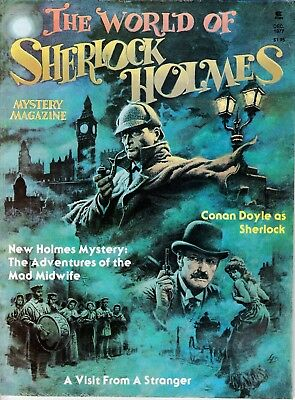 Holmes & Watson In World Of Sherlock Holmes Mystery Magazine #1 1977 100 Pages!!