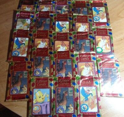 Lot Of 22 1995 Premiere Edition Fleer Holidays Easter Cards 7 Story Cards