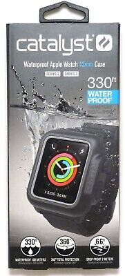 Catalyst Band and Case for Apple Watch 42mm Series 2 & Series 3 - Stealth Black