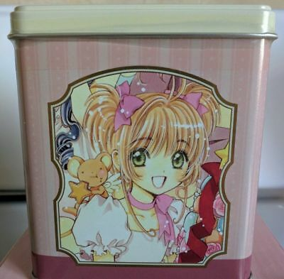 Cardcaptor Sakura Animate Cafe exclusive sealed cookie tin Clamp