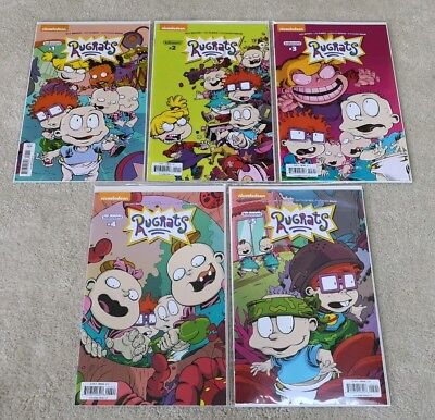 Rugrats 1 2 3 4 5 - Comic Book - Kaboom - 2017