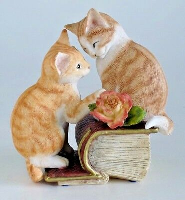 Country Artists Kitten Tales Romeo & Juliet Figurine