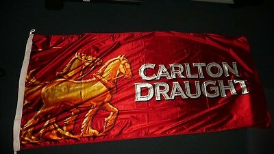 Carlton Draught Beer Banner Flag SELBY's great quality 1800 x 900mm