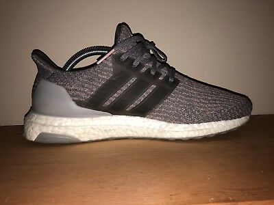 03385e28a0b11 ADIDAS ULTRA BOOST 3.0 Grey Four and Trace Pink S82022 Mens Size 8.5 -   100.00
