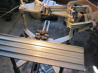 Used New Hermes Engraving Machine Pantograph Engraver Engravograph, with stand.