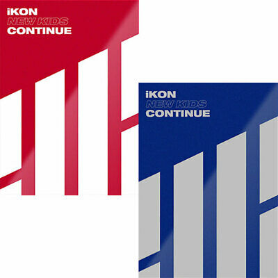 IKON [NEW KIDS:CONTINUE] Album RANDOM CD+POSTER+Photo Book+Post Card+Card SEALED