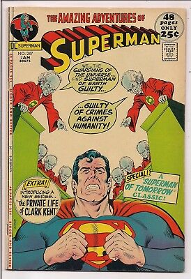 Superman #247 (January 1972, DC)