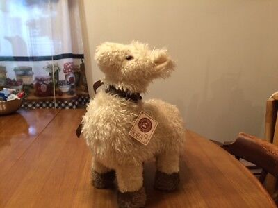 """Plush Dolly Llama Plush - Boyd's Collection With Tags - 12"""" - Retired?"""