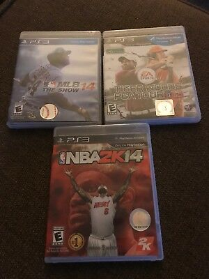Playstation Sports Pack Vol 1 Mlb 14 The Shownba 2k14 Ps3