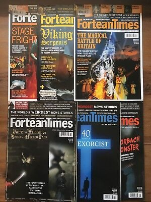 6 x FORTEAN TIMES MAGAZINES | 2010 Issue 263 264 267 | 2014-15 Issue 310 313 329