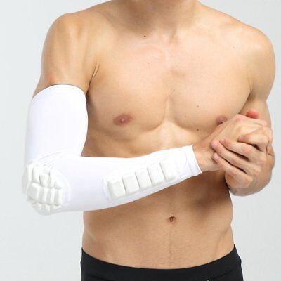 Crashproof Arm Sleeve Armguards Sunscreen Sports Protective Forearm Elbow Pad Z1