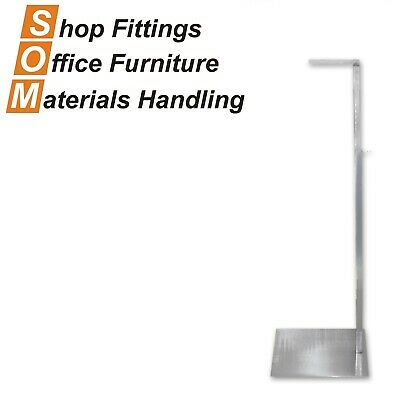 Mannequin Display Stand Costumer Chrome