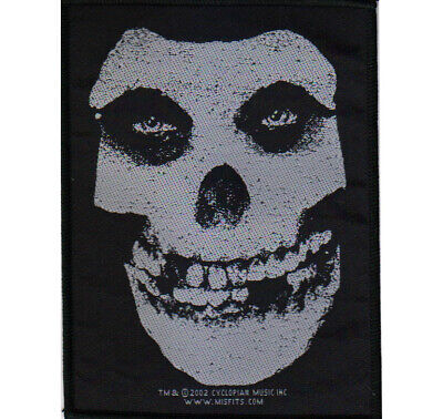 Misfits Fiend Skull Patch Woven Patch Officl Gothic Horror Punk Rock Band Merch