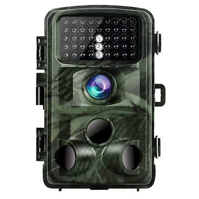 Trail Camera 14MP 1080P Game Camera Night Vision Motion Activated Waterproof
