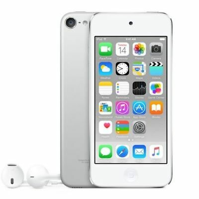 Apple iPod touch 6th Generation Silver (128 GB) MP3 Player MKWR2LL/A Refurbished