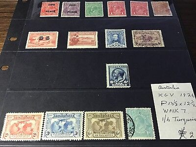 1.4kg AUSTRALIAN PREDECIMAL STAMPS MOSTLY OFF PAPERS