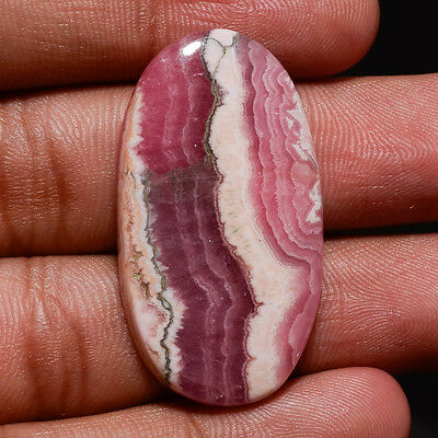 100% Natural Argentina Rhodochrosite Oval Gemstone Untreated Loose Cabochon Gift