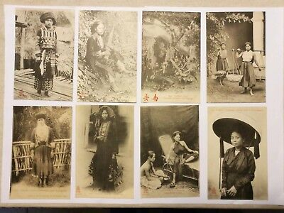 33 Cartes Postales anciennes  Tonkin