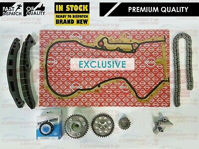 For Vw Sharan Scirocco 1.4 Tsi 122 150 Bhp Engine Cam Timing Chain Kit Vvt 2008-
