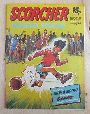 Scorcher comic Holiday Special 1971