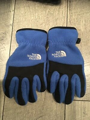 The North Face ETIP Boy's Denali Gloves - Youth-Small, Blue