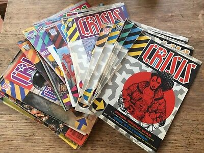 2000AD Presents CRISIS #1-22, 24-29, 31-32 and 34 1988-1989