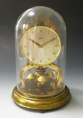 Vintage SCHATZ 400 day anniversary clockwork dome clock made in Germany - repair